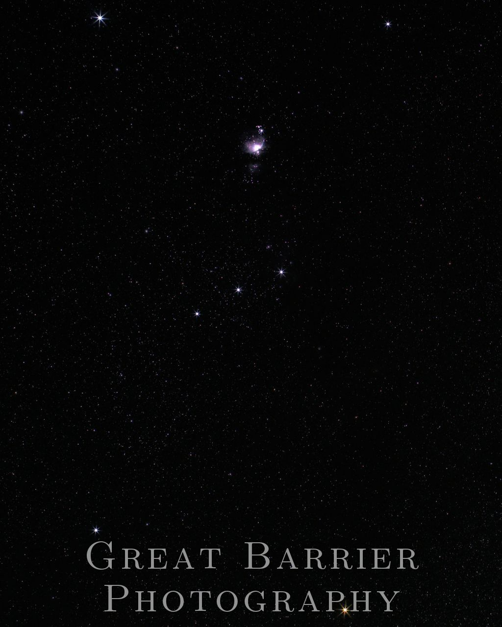 Orion Constellation - Astrophotography | Great Barrier