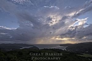 Tryphena Harbour Rain 5117